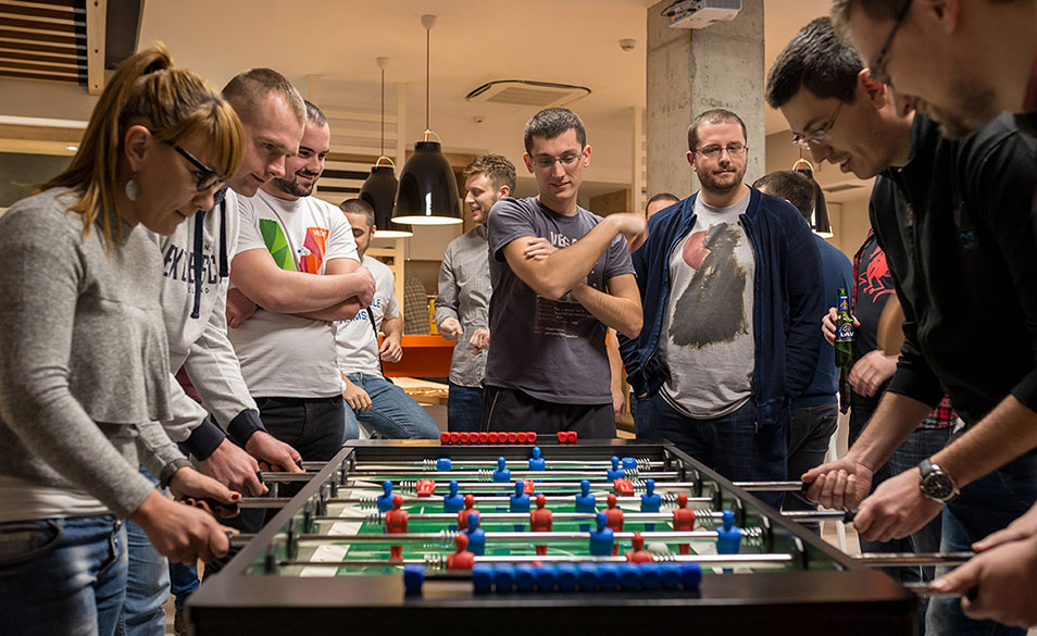 80 people, 40 teams, 10 IT companies for one cause - charity