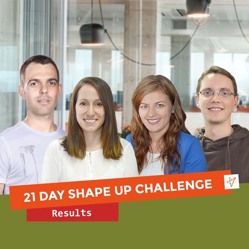 21 day shape up challenge